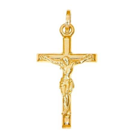 Złoty krzyżyk pr. 585  ZK062