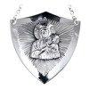 Ryngraf na komunię srebrny 925 Matka Boska Częstochowska R18
