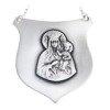 Ryngraf srebrny 925 Matka Boża Częstochowska R13