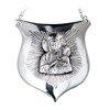 Ryngraf srebrny 925 Matka Boża Częstochowska R17