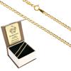 Złoty Łańcuszek w pudełku ozdobnym z grawerem pr. 585 Gucci 060 ZL026/BA-3